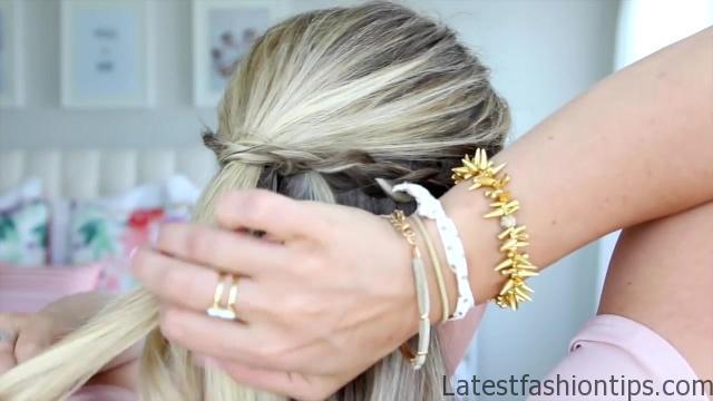 4 in 1 Pull Thru Braid   Cute Girls Hairstyles HD720 06 4 in 1 Pull Thru Braid Hairstyles