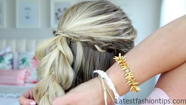 4 in 1 Pull Thru Braid   Cute Girls Hairstyles HD720 08 4 in 1 Pull Thru Braid Hairstyles