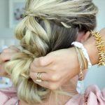 4 in 1 Pull-Thru Braid _ Cute Girls Hairstyles_HD720 10