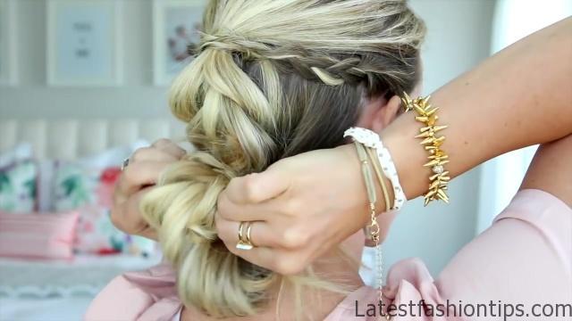 4 in 1 Pull Thru Braid   Cute Girls Hairstyles HD720 10 4 in 1 Pull Thru Braid Hairstyles