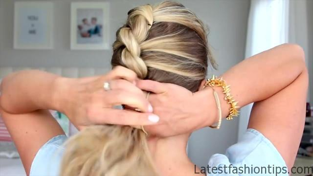 5 Easy Back-to-School Hairstyles _ Cute Girls Hairstyles_HD720 06