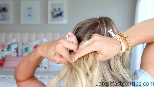 5 Easy Back-to-School Hairstyles _ Cute Girls Hairstyles_HD720 11