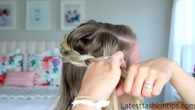 5 Easy Back-to-School Hairstyles _ Cute Girls Hairstyles_HD720 13