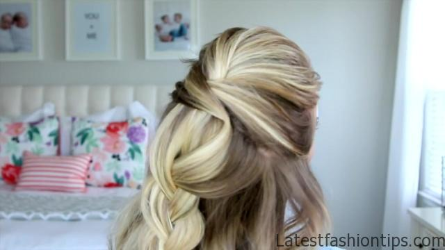 5 Easy Back-to-School Hairstyles _ Cute Girls Hairstyles_HD720 19