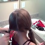 5-in-1 Simple Braids _ DaddyDo Hairstyles _ Cute Girls Hairstyles_360P 07