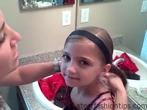 5-in-1 Simple Braids _ DaddyDo Hairstyles _ Cute Girls Hairstyles_360P 12