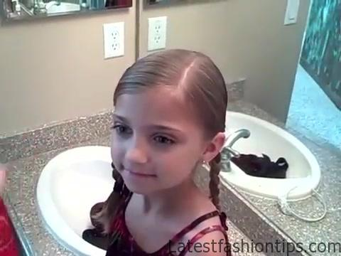 5-in-1 Simple Braids _ DaddyDo Hairstyles _ Cute Girls Hairstyles_360P 13
