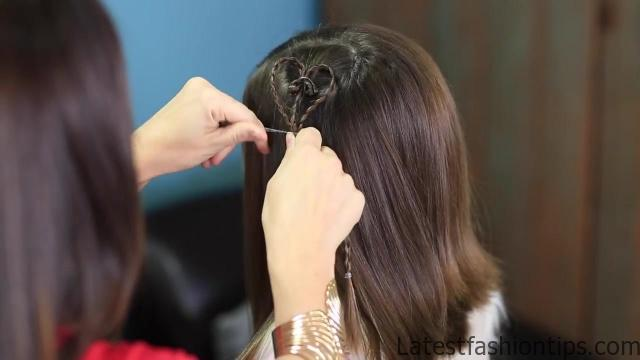 Accent Hearts _ Valentines Day Hairstyles_HD720 13