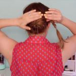 Back to School_ Quick Braided Updo!_HD720 7