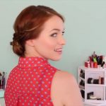 Back to School_ Quick Braided Updo!_HD720 8