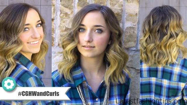 Bailey's 25mm Wand Curls _ Curly Hairstyles_HD720 03