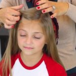 Bantu Knot Curls _ Easy No-Heat Curls _ Cute Girls Hairstyles_HD720 05