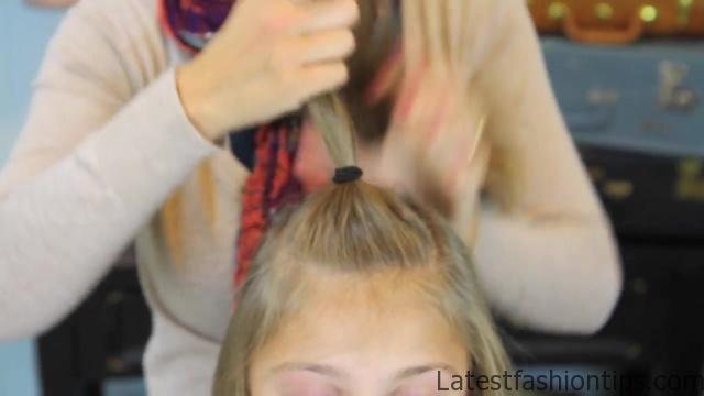 Bantu Knot Curls _ Easy No-Heat Curls _ Cute Girls Hairstyles_HD720 08