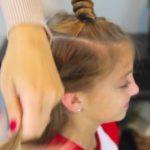 Bantu Knot Curls _ Easy No-Heat Curls _ Cute Girls Hairstyles_HD720 12