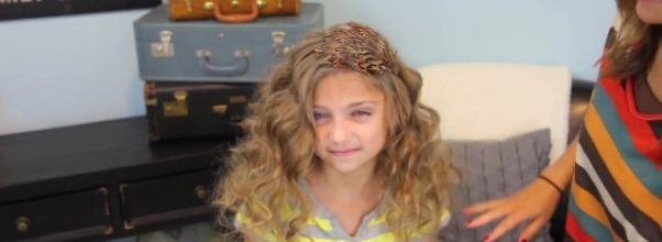 Bantu Knot Curls _ Easy No-Heat Curls _ Cute Girls Hairstyles_HD720 23