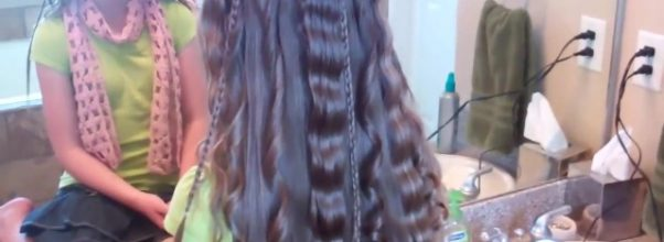 Beachy Combo _ Beautiful Hairstyles _ Cute Girls Hairstyles_HD720 16