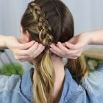 Beautiful Double Dutch Fishtails _ DIY Hair Tutorials_HD720 06