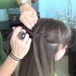 Beautiful Waterfall Twist _ Cute Girls Hairstyles_HD720 08