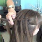 Beautiful Waterfall Twist _ Cute Girls Hairstyles_HD720 09