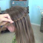 Beautiful Waterfall Twist _ Cute Girls Hairstyles_HD720 13