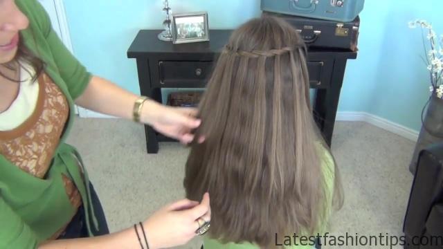 Beautiful Waterfall Twist _ Cute Girls Hairstyles_HD720 14