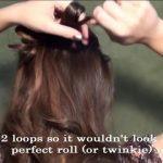 Blair's Wedding Updo for Prom, Homecoming, or Weddings!_HD720 11