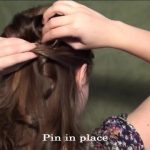 Blair's Wedding Updo for Prom, Homecoming, or Weddings!_HD720 12