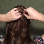 Blair's Wedding Updo for Prom, Homecoming, or Weddings!_HD720 13