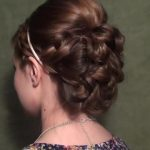 Blair's Wedding Updo for Prom, Homecoming, or Weddings!_HD720 15
