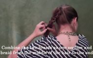 Blake Lively's Braided Pony_HD720 15