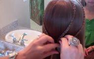 Bohemian Braids Tieback _ Cute Girls Hairstyles_HD720 15