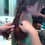 Bohemian Fishtail Braid _ Long Hair _ Cute Girls Hairstyles_360P 12