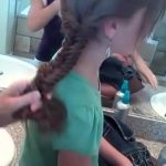 Bohemian Fishtail Braid _ Long Hair _ Cute Girls Hairstyles_360P 13