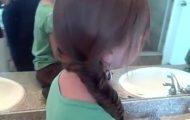 Bohemian Fishtail Braid _ Long Hair _ Cute Girls Hairstyles_360P 14