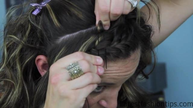 Bow Braid Headband {DIY} _ Catching Fire _ Hunger Games Hairstyles_HD720 10