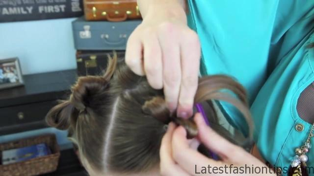 Bow Tails _ Short Hairstyles _ Cute Girls Hairstyles_HD720 16