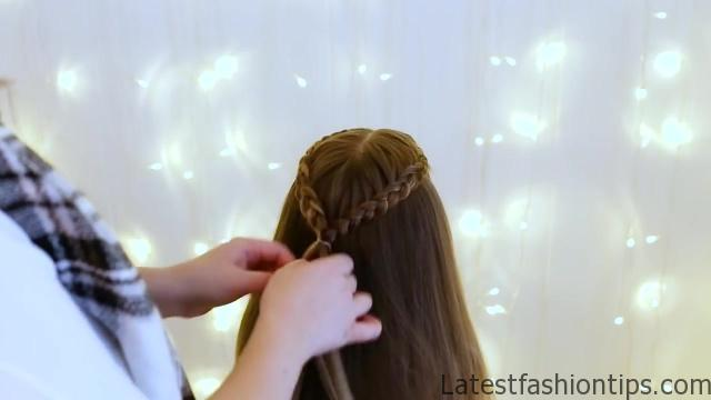 Braid Bun Combo _ Cute Girls Hairstyles_HD720 08