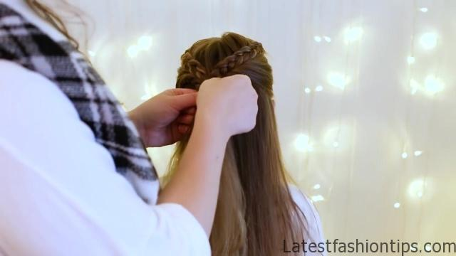 Braid Bun Combo _ Cute Girls Hairstyles_HD720 10