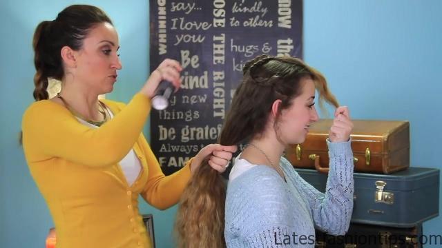 Braid Flip Combo _ Easy Hairstyles_HD720 08