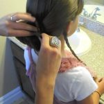 Braid-Wrapped Chignon _ Updos _ Cute Girls Hairstyles_HD720 09