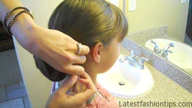 Braid-Wrapped Chignon _ Updos _ Cute Girls Hairstyles_HD720 13