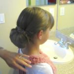 Braid-Wrapped Chignon _ Updos _ Cute Girls Hairstyles_HD720 14