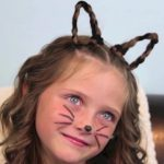 Braided Cat Ears _ Halloween Hairstyles _ Cute Girls Hairstyles_HD720 03