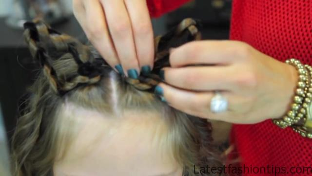 Braided Cat Ears _ Halloween Hairstyles _ Cute Girls Hairstyles_HD720 09