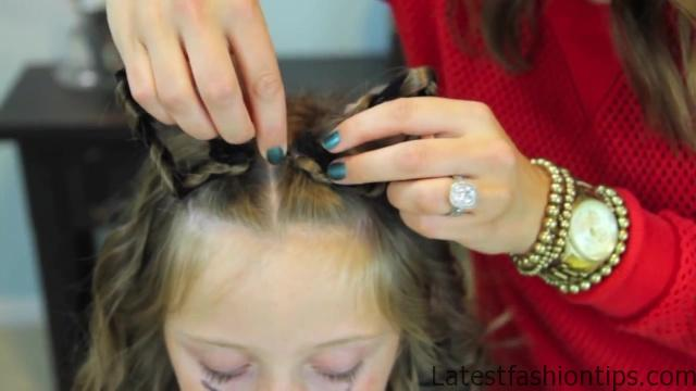 Braided Cat Ears _ Halloween Hairstyles _ Cute Girls Hairstyles_HD720 10