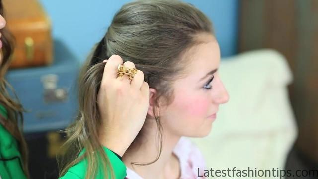 Braided Half Up _ Hairstyles for Prom_HD720 14