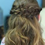 Braided Half Up _ Hairstyles for Prom_HD720 20
