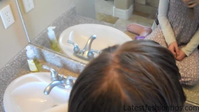 Braided Headband into Rose _ Long Hair _ Cute Girls Hairstyles_HD720 03