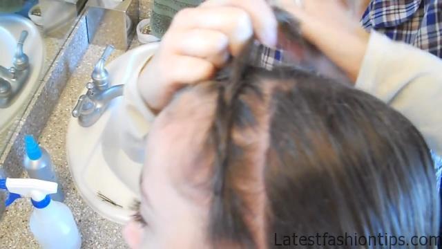 Braided Headband into Rose _ Long Hair _ Cute Girls Hairstyles_HD720 07