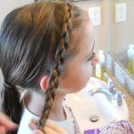 Braided Headband into Rose _ Long Hair _ Cute Girls Hairstyles_HD720 10